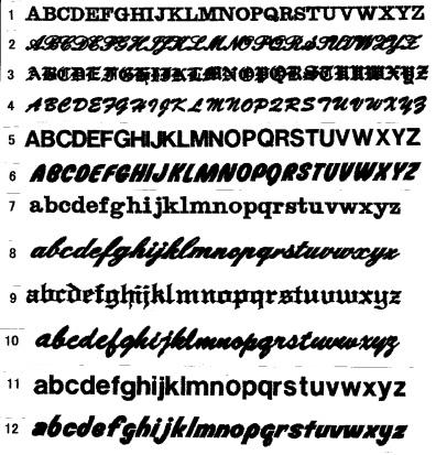 和文字はお選び頂いた字体にて ... : よう ローマ字 : すべての講義